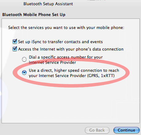 bluetooth setup assistant