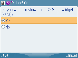 setting local maps