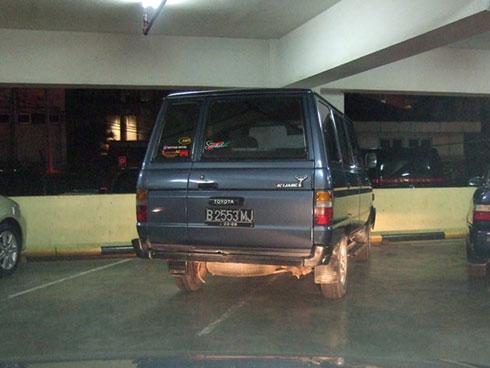 cara jenius untuk parkir